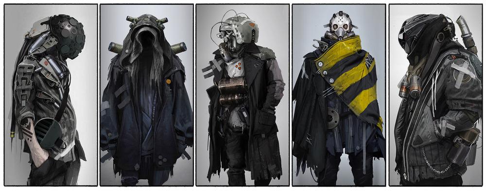 Character Design Uk : Incredibly cool original sci fi character designs — geektyrant