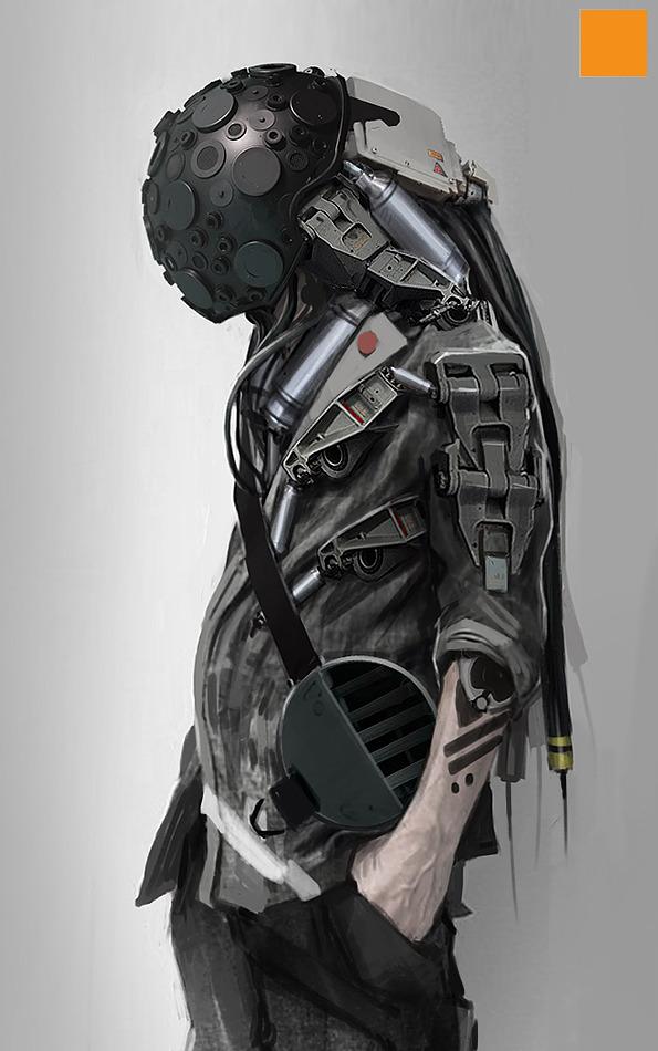 Badass Anime Character Design : Incredibly cool original sci fi character designs — geektyrant