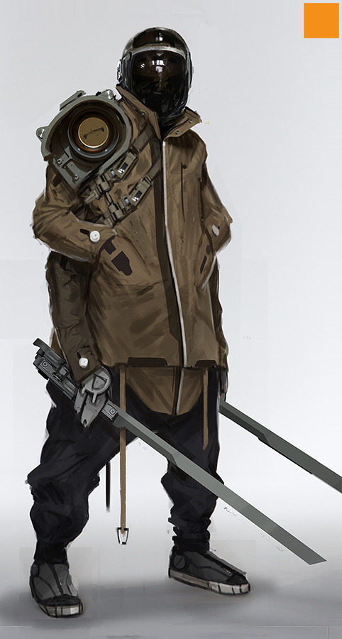 Character Design Parka : Incredibly cool original sci fi character designs — geektyrant