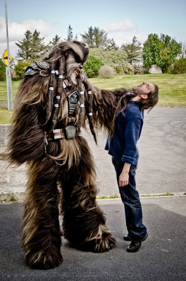 Epic Star Wars Wookiee Cosplay Geektyrant