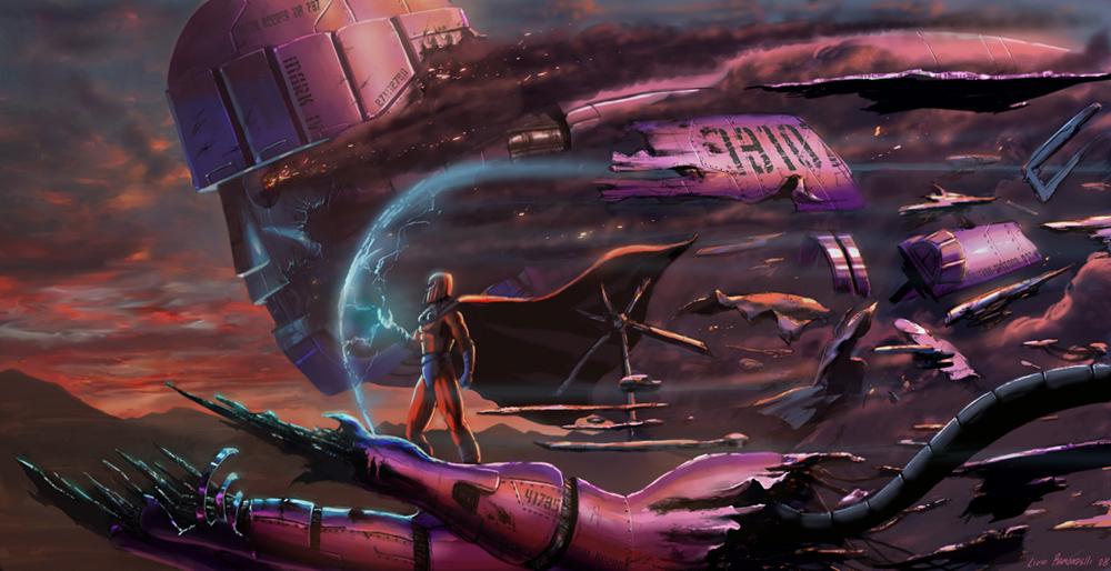 Magneto_and_Sentinel_by_Livio_by_Livio27.jpg