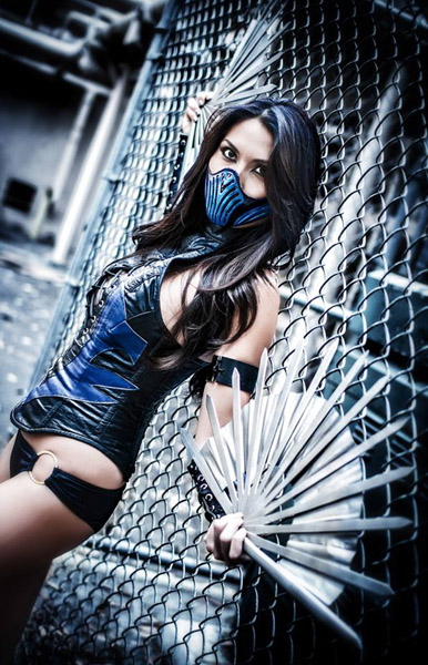 Kim chi  is Kitana | Photo by:  Mike Rollerson