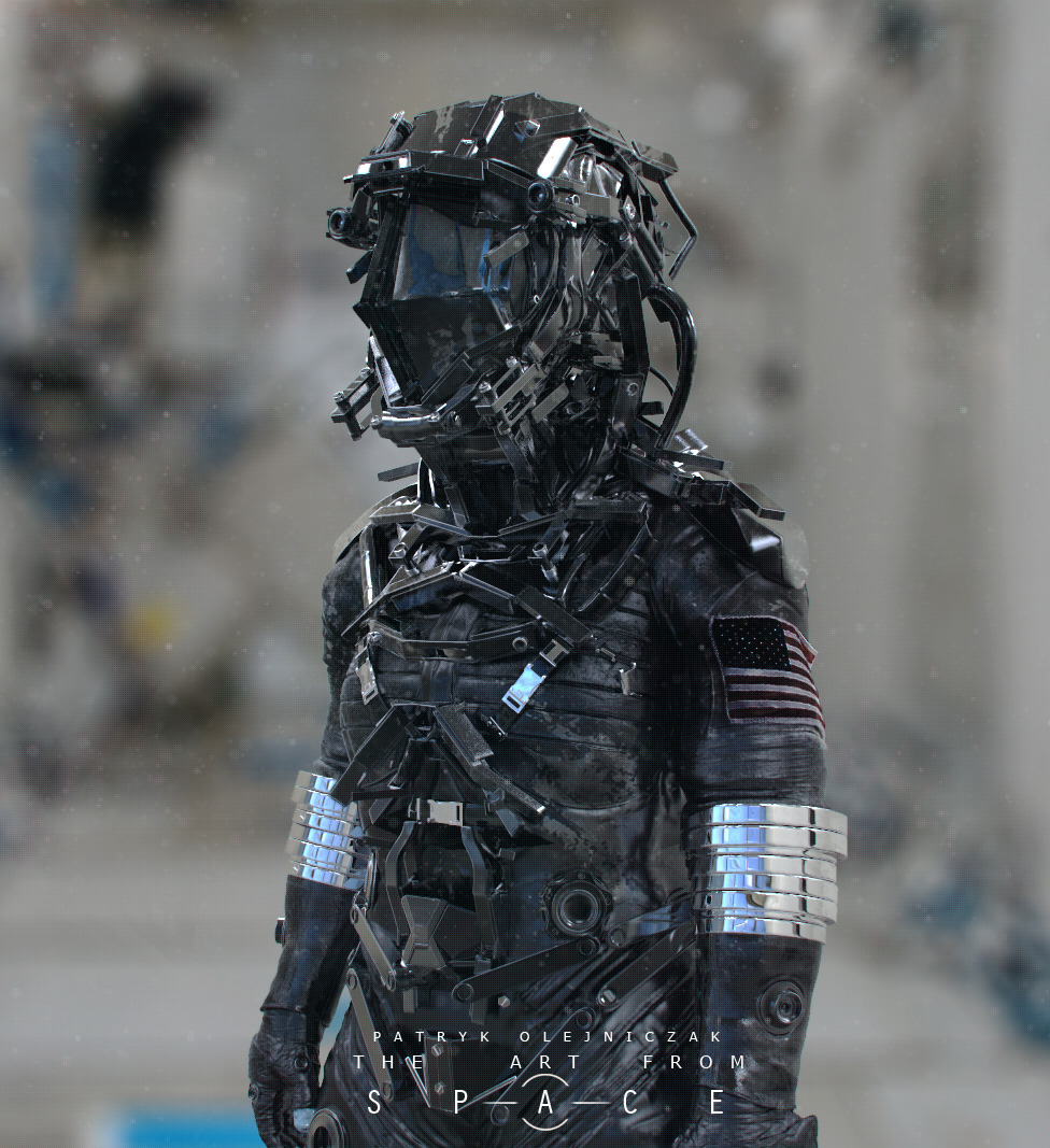 Awesome Futuristic Combat And Space Suit Designs