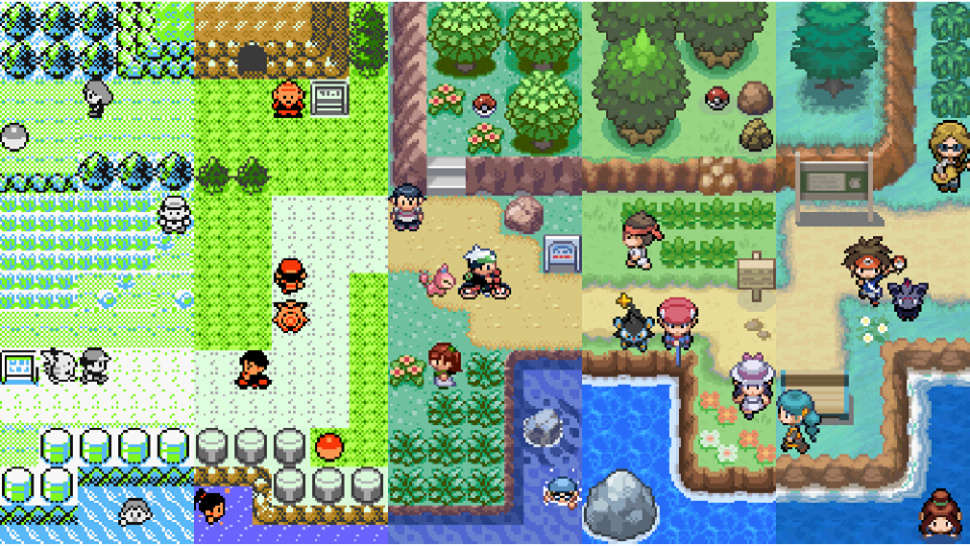 Seventeen Years of Pokemon in a Single Image [ Kotaku ]