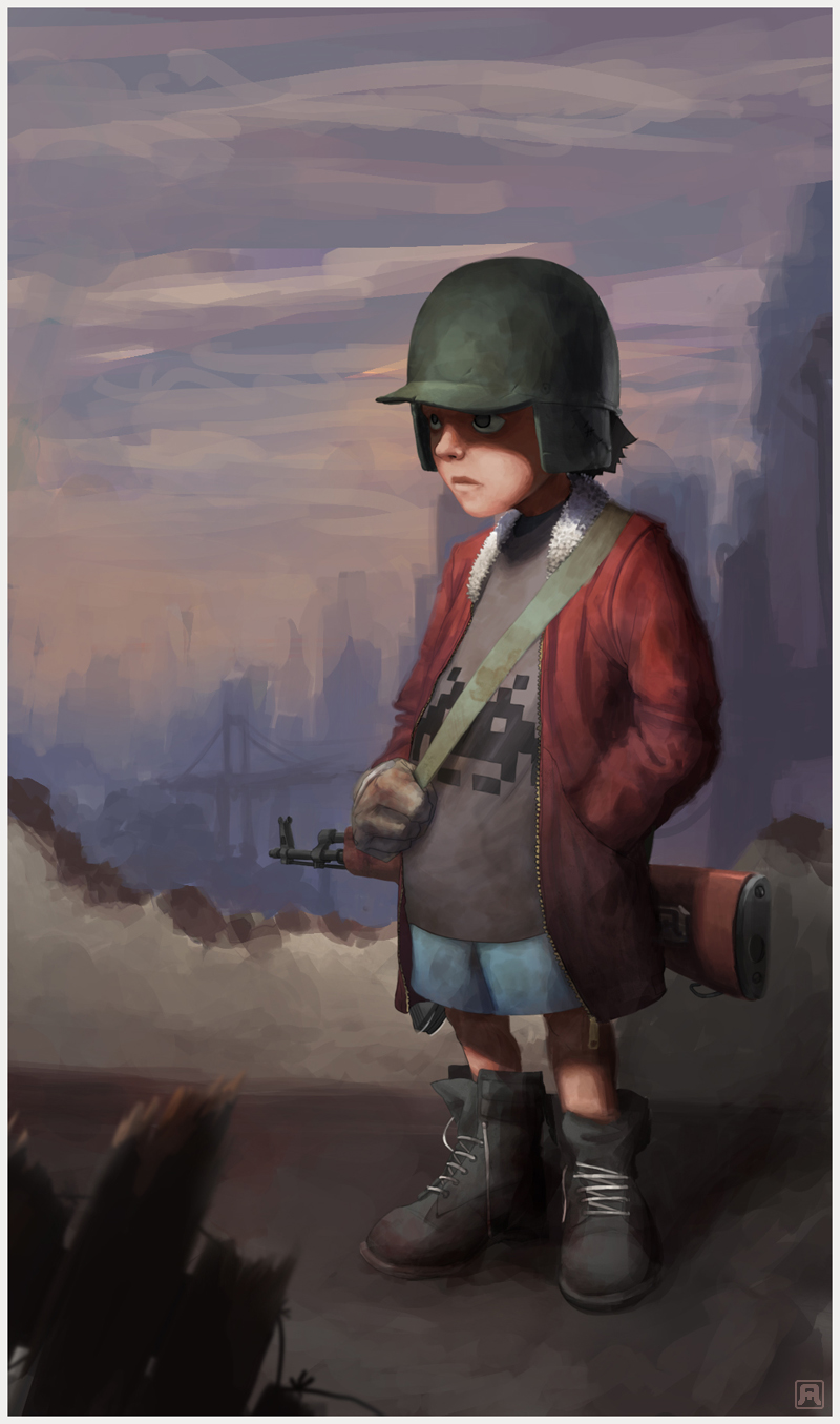war kid revamp by  Bad-Blood