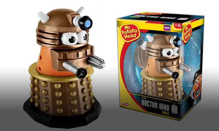 Doctor Who Dalek Mr. Potato Head