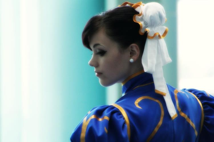 Selenity  is Chun-Li | Photo by:  Phantom Tora