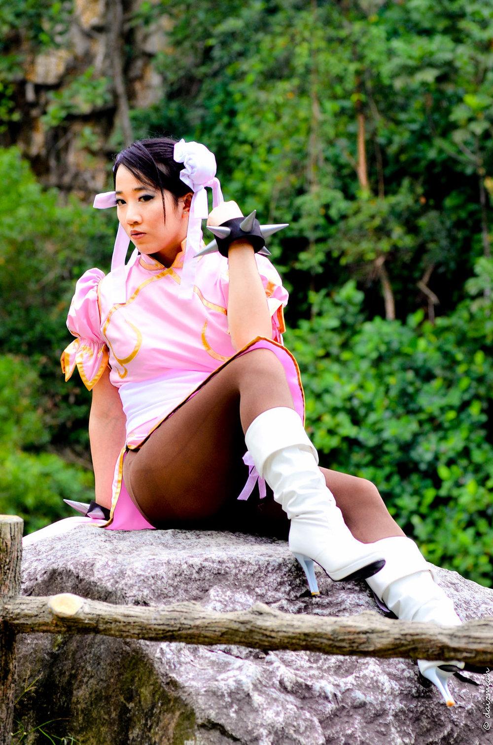 Yukiko Miaka is Chun-Li | Photo by: Jeremiah Pantino