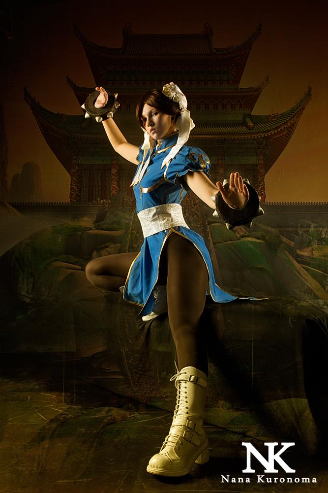 Amy Yikawa  is Chun-Li | Photo by: Helmut R.