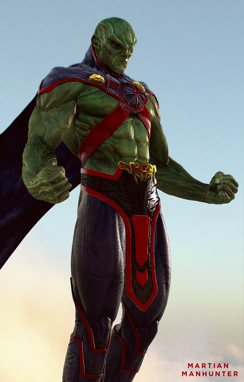 Awesome Character Art For Dc S Martian Manhunter Geektyrant