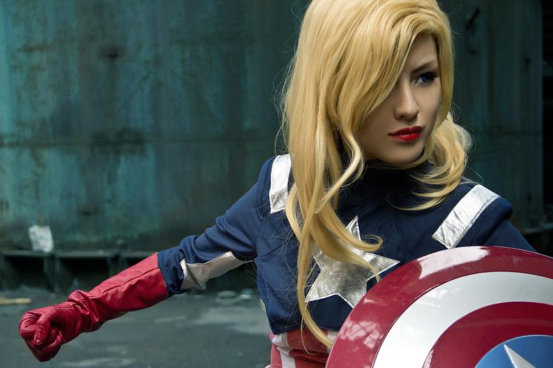 HinoSherlokiis Captain America