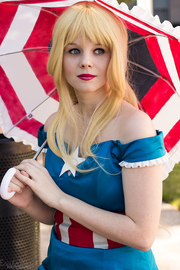Tskyli is Captain America | Photo by ExileFayt