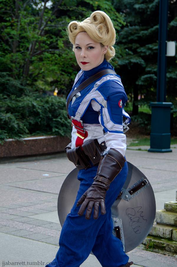 Christine is Captain America | Photo by Josh Barrett