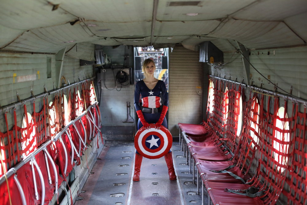 InhumanSandwiches is Captain America | Photo Rodrigo Garcia