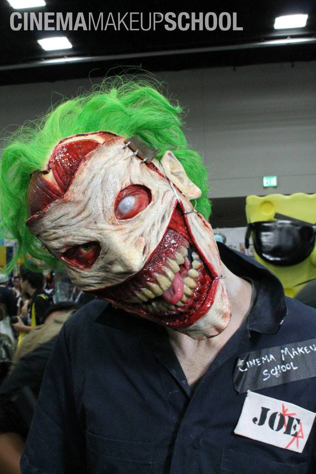 Insanely Creepy New 52 Joker Face Prosthetic and Makeup ...