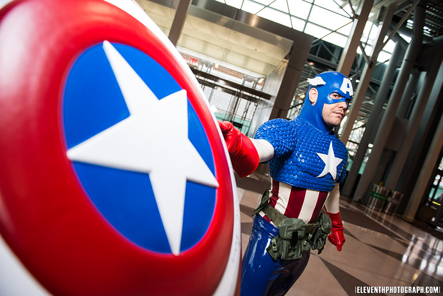 Wilbertcaptain is Captain America | Photo by RocknamLee