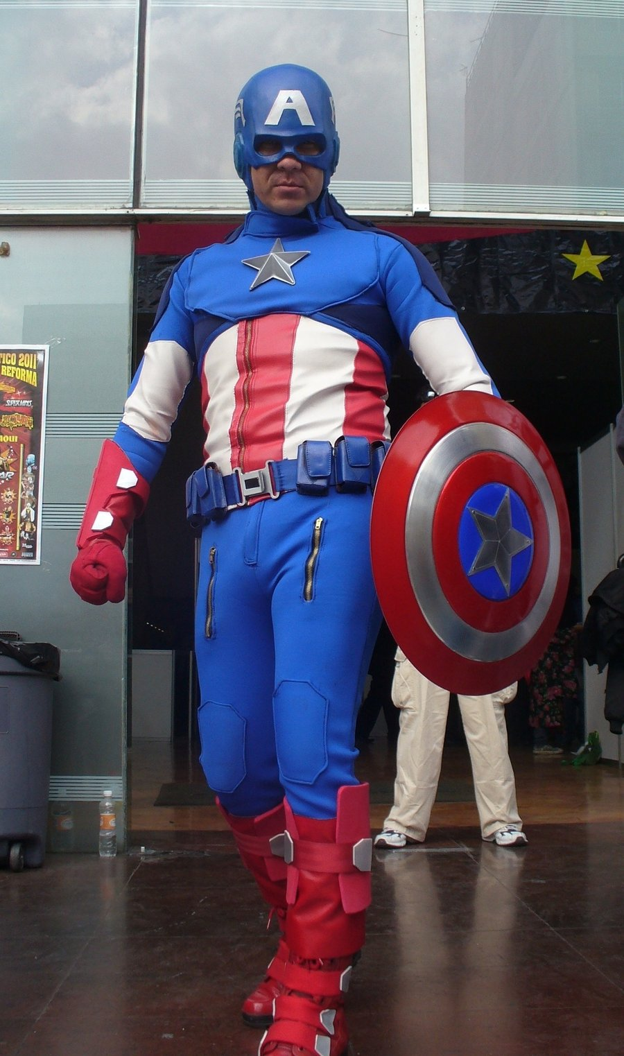 Kryptoniano is Captain America | Made by Kanai-Chan