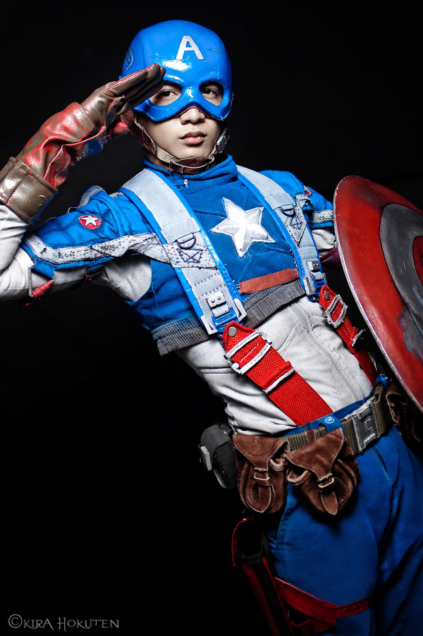 Unknow is Captain America | Photo by KiraHokuten