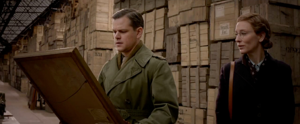 great trailer for george clooneys wwii film the monuments