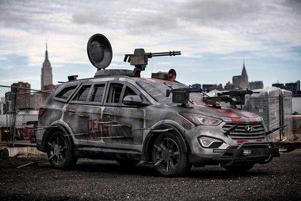 Zombie Killing Machine Images - Cool zombie cars