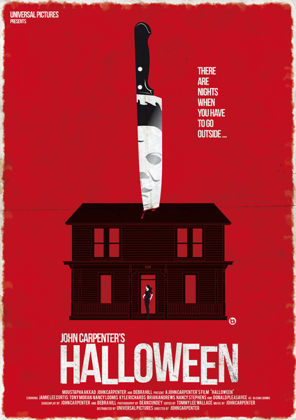 Great Horror Movie Poster Art - Halloween, Carrie, and More ...