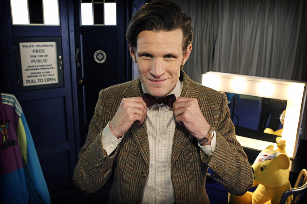 5a408d8c7cef Steven Moffat Didn't Want Matt Smith To Wear A Bow Tie For DOCTOR ...