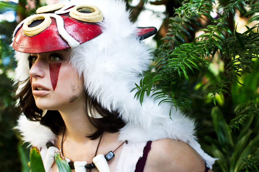 meagan marie is san princess mononoke c ostume by anna fischer