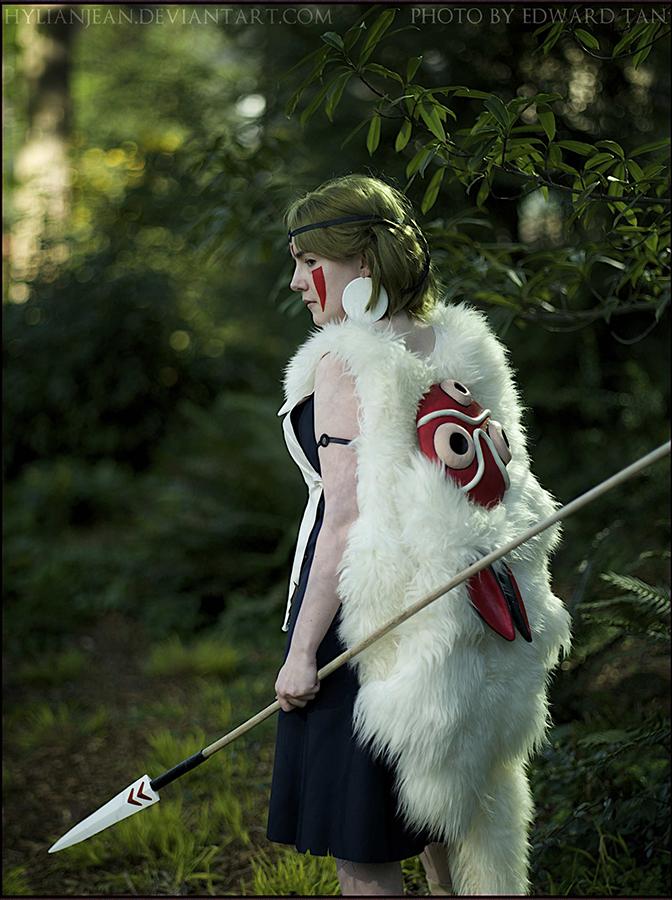 HylianJean  is San / Princess Mononoke | Photo by Edward Tan