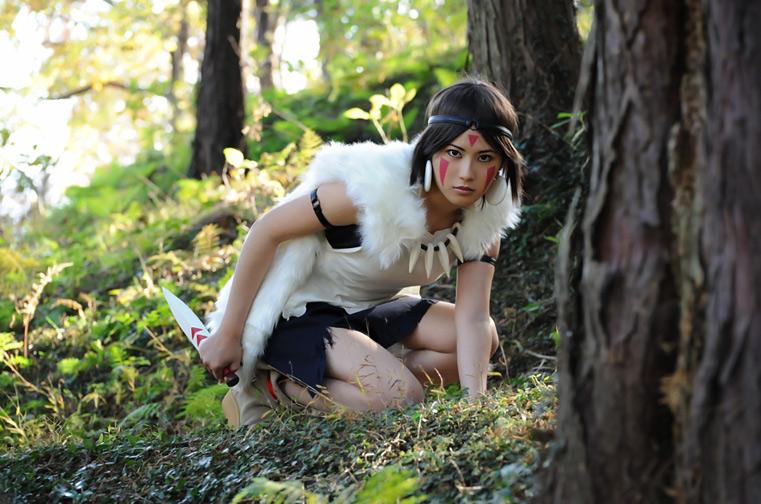 MIUX-R  is San / Princess Mononoke | Photo by  Openget
