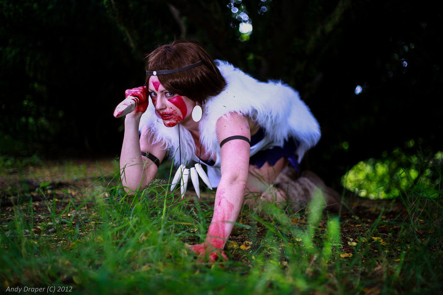 Eternal-Aranel  is San / Princess Mononoke | Photo by Zombiebearz