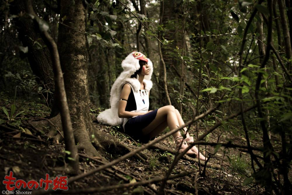 IchiXRuki  is San / Princess Mononoke | Photo by One Shooter