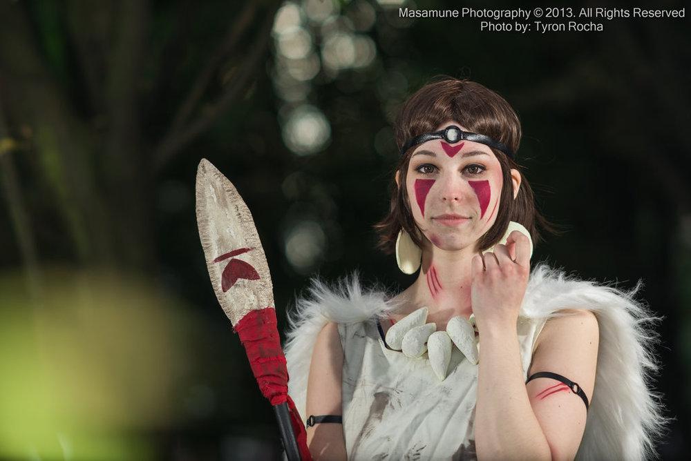 KasuKitty  is San / Princess Mononoke | Photo by  Tyron at  Masamune  |