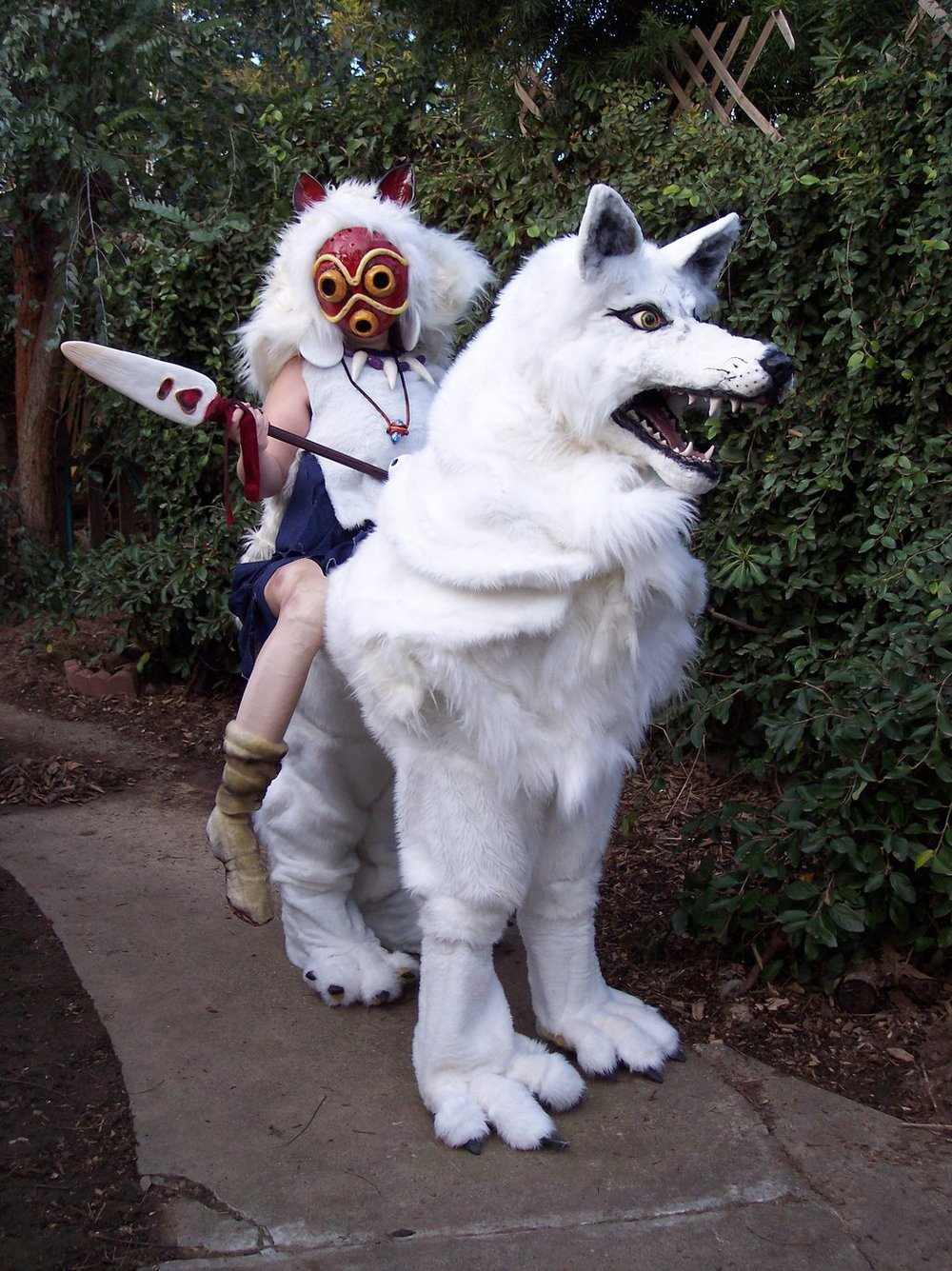 LilleahWest  is San / Princess Mononoke / Wolf