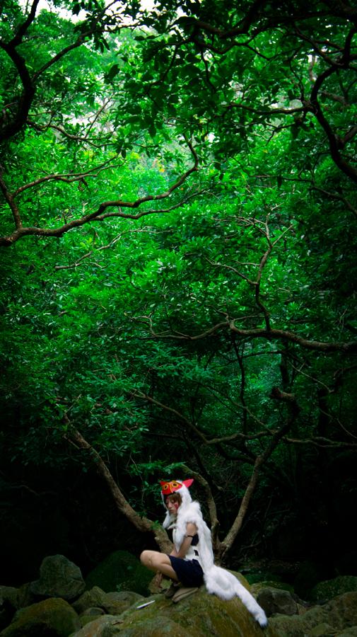 yui930  is San / Princess Mononoke | Photo by JIE