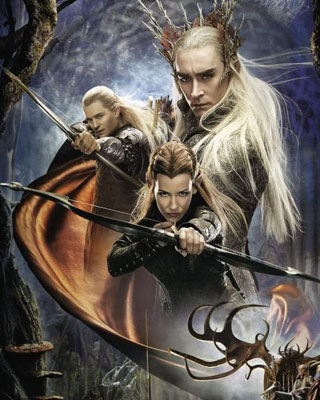 New Elf Poster For The Hobbit The Desolation Of Smaug