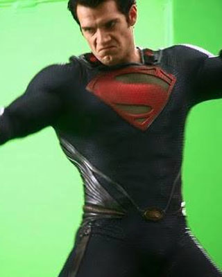 man of steel featurette clip all out action flying