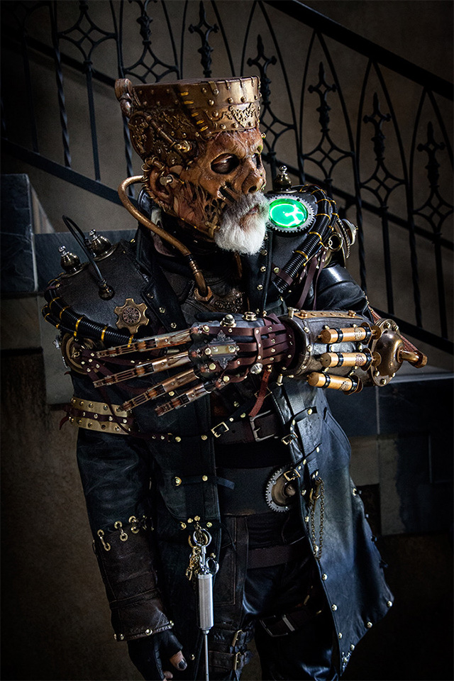Insane Ste&unk Frankensteinu0027s Monster Costume by Rick Baker : cool steampunk costumes  - Germanpascual.Com