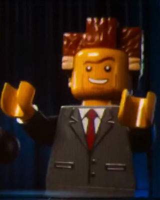 Lego movie president business tower