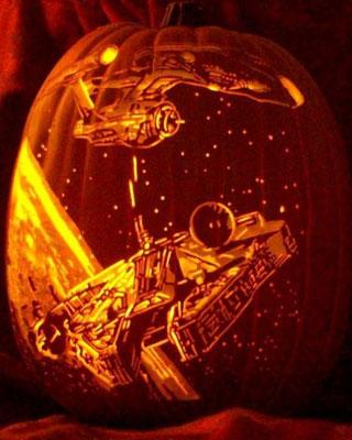 Star Trek Vs Star Wars Jack O Lantern Geektyrant