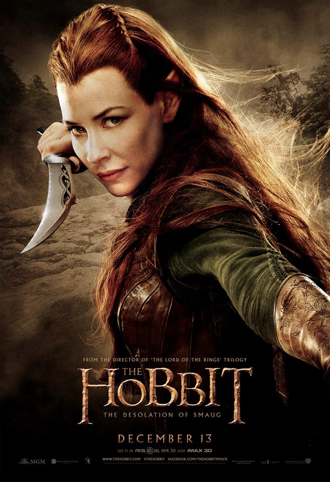 THE HOBBIT: THE DESOLATION OF SMAUG - 7 Character Posters ...