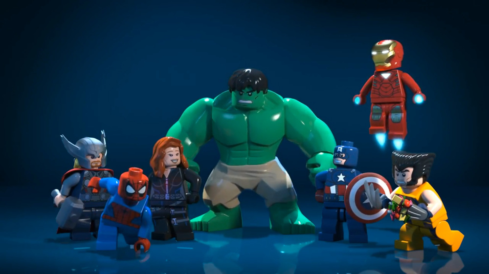 Watch The Cool Lego Marvel Superheroes Web Series Geektyrant