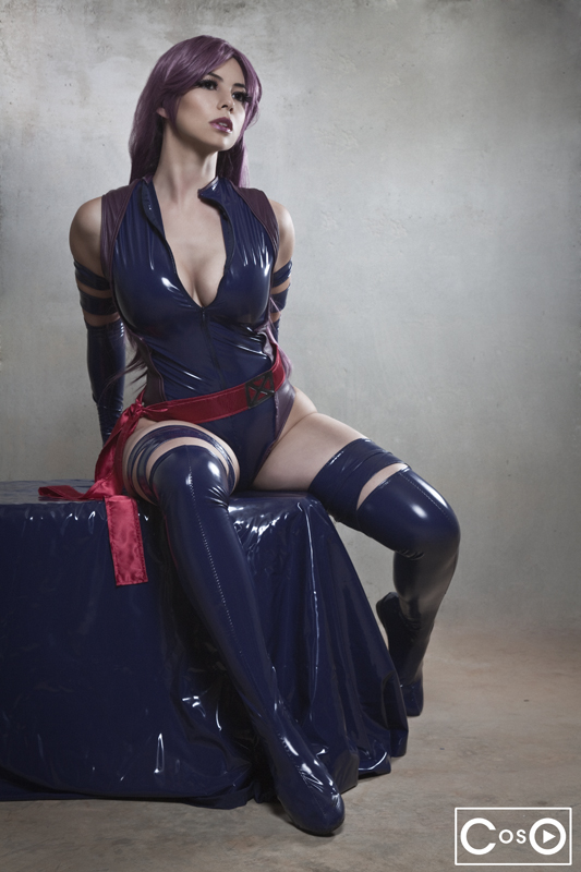 Margie Cox  is Psylocke | Photo by:  Andrew Michael Phillips