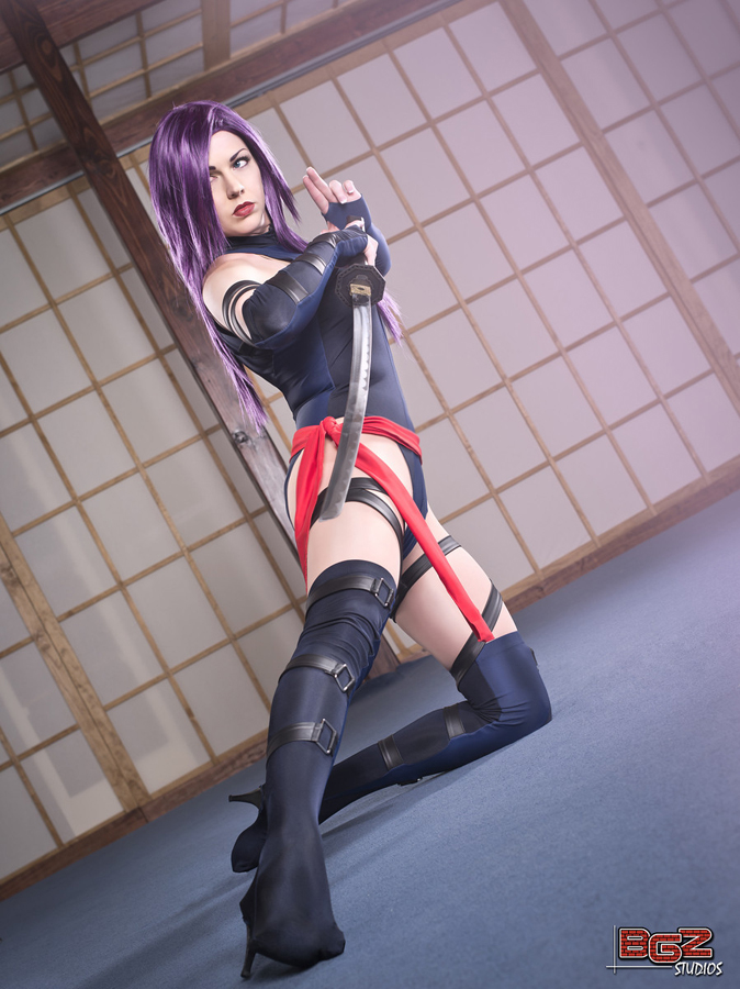 Miracole Burns  is Psylocke | Photo by:  BGZ Studios