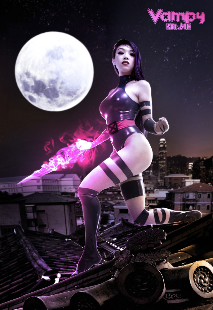 Vampy Bit Me  is Psylocke | Photo by:  Long Vo