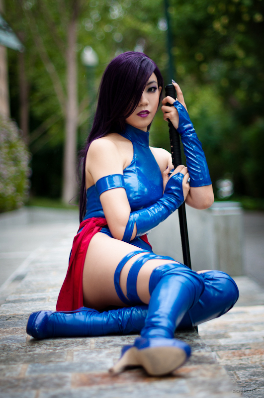 Camilliette  is Psylocke | Photo by: Daniel