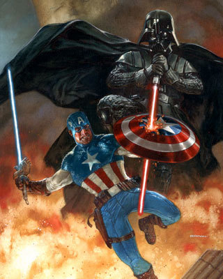 darth-vader-vs-captain-america-by-dave-d