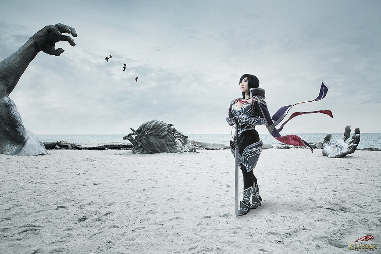 Yaya Han    is Fiora | Photo by:    Elysiam Entertainment