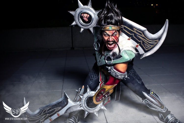 Shinra Junkie    is Draven | Photo by:    SF Design