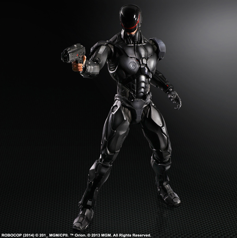 robocop action figures from square enix and sideshow