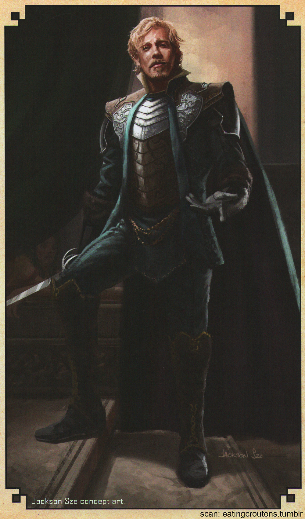 Fandral The Dashing Thor 2 More Cool Conce...